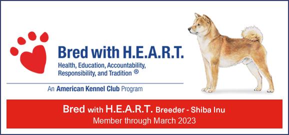 Sho Mai Sou Bred with H.E.A.R.T. 2020